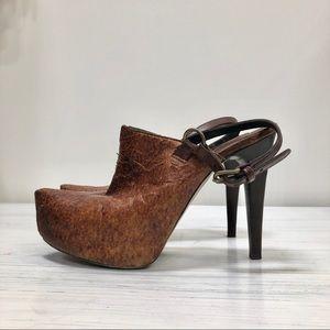 Handmade Italian Wooden Heels